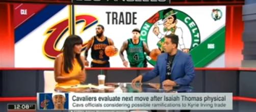 Cavs seeking more compensation for Kyrie Irving deal - (Image credit: YouTube/Sports Show)
