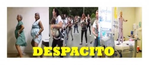 ''Despacito'' dançado por grávidas, mamães e crianças em tratamento