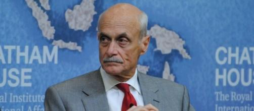 Former DHS Secretary Michael Chertoff spoke to a gathering in Silicon Valley on Wednesday. (Photo via Flickr)