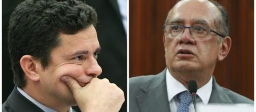 Juiz Federal Sérgio Moro X Ministro Gilmar Mendes.