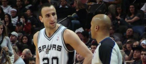 Manu Ginobili has won four NBA titles with the Spurs – Zereshk via WikiCommons