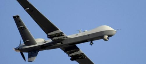 MQ-9 Reaper unmanned aerial vehicle (Credit – Robert W. Valenca – wikikmediacommons)
