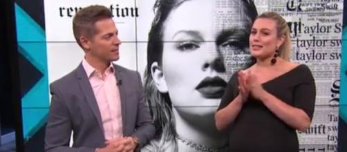 """Taylor Swift to release new album """"Reputation"""" and first single will be dropped on Friday. Image via YouTube/ENews"""