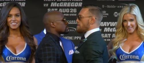 """WInner of Mayweather-McGregor will win """"The Money Belt"""" - (Image credit: YouTube/SHOWTIME Sports)"""