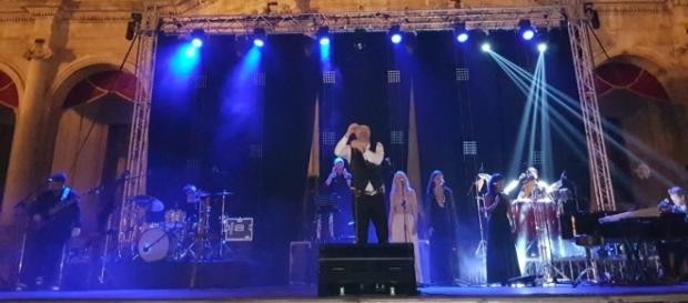 Mario Biondi nel concerto di Noto
