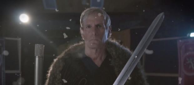 No kidding! Michael Bolton sings a lampoon 'Game of Thrones' theme for 'Honest Trailers.' / from 'YouTube' screen grab