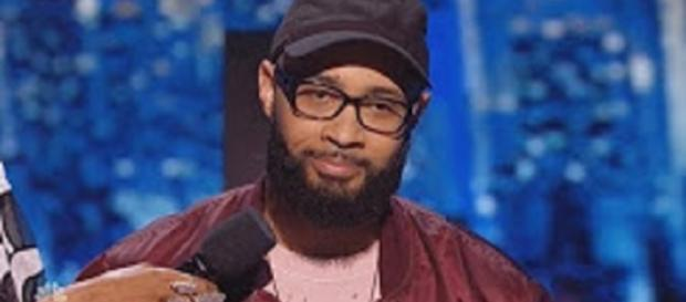 "The wait through the tie-breaker to the semifinal spot on ""America's Got Talent"" was worth it for Eric Jones. Screencap Breaking Talent/YouTube"