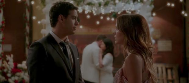 Walter (Elyse Gabel) and Paige (Katharine McPhee) for 'Scorpion'/Photo via screencap, 'Scorpion'/CBS