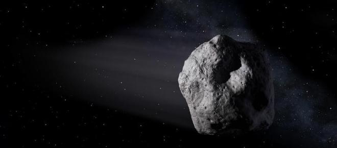 A gigantic Asteroid of the century