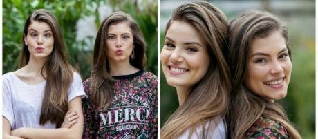 Bruna Hamú e Camila Queiroz são idênticas