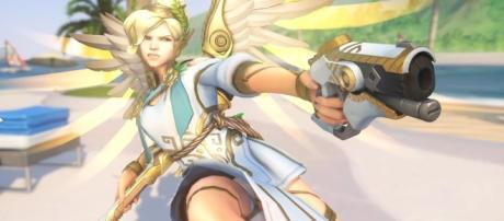 'Overwatch' Blizzard is already looking into nerfing the newly reworked Mercy(Mark Hoo/YouTube Screenshot)