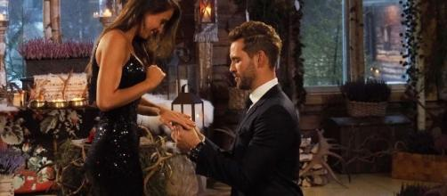 Bachelor' Nick And Vanessa from screenshot