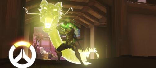 "Genji is among the highly mobile characters in ""Overwatch"" (via YouTube/PlayOverwatch)"