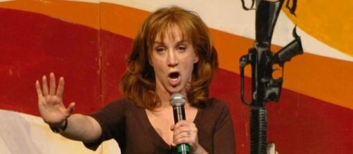 "Kathy Griffin announced ""Laugh Your Head Off"" world tour Donald Trump controversy. (Wikimedia/Sgt. Dallas Walker)"