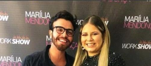 Marília Mendonça e novo affair se conheceram durante gravação de um programa