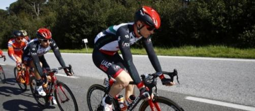 Matej Mohoric (UAE) vince ad Avila