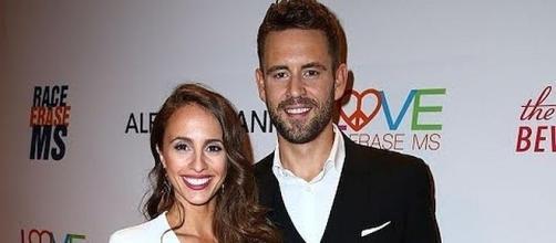 Nick Viall and Vanessa Grimaldi call off engagement [Image: Entertainment Tonight/YouTube screenshot]