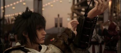 Noctis as an assassin in 'Final Fantasy XV'. (image source: YouTube/IGN)