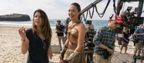 Patty Jenkins e Gal Gadot in Wonder Woman
