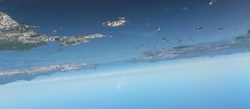 Río de Janeiro vista aérea, Brasil