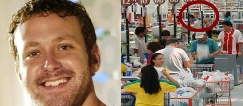 Sérgio, o Cabeção, de Malhação, virou atendente de supermercado em NY