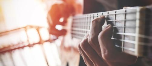 Music photo of guitar via Pixabay