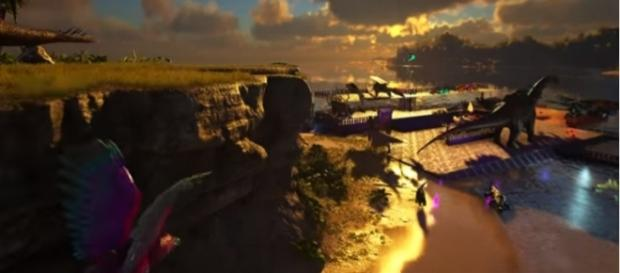 """A screenshot from """"ARK: Survival Evolved."""" - YouTube/ARK Survival Evolved"""