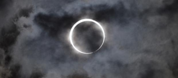A South Carolina couple named their baby girl born on the solar eclipse an unusual name/Photo via Takeshi Kuboki, Flickr