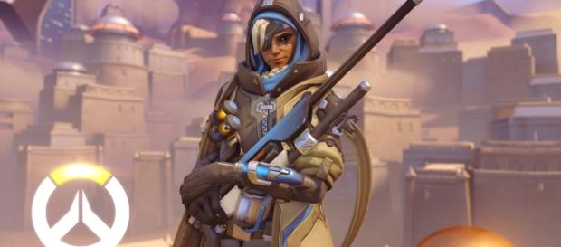 """Ana's ultimate in """"Overwatch"""" gives the target a combat boost (via YouTube/PlayOverwatch)"""