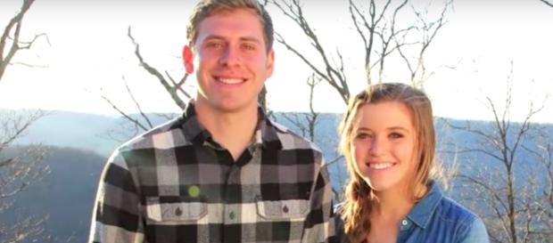 Austin Forsyth and Joy-Anna Duggar--Image by TLC/YouTube