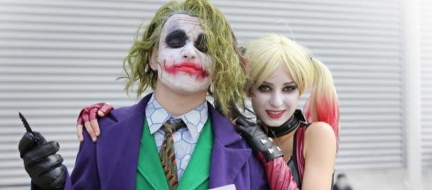 Joker, Harley Quinn / Photo via taymtaym, Flickr