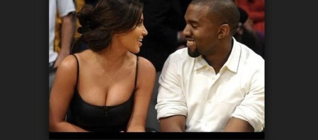 Kim Kardashian and Kanye West - www.flickr.com