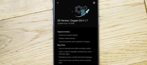 Oxygen OS 4.1.7 - YouTube/OnePlus Exclusive Channel
