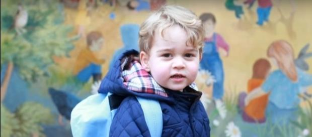 Prince George attending nursery school- (YouTube/ABC News)