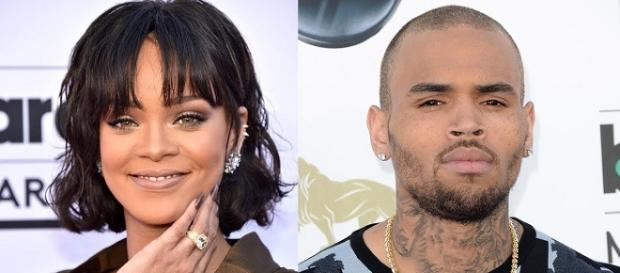 Rihanna, Chris Brown - Image via YouTube/Clevver News