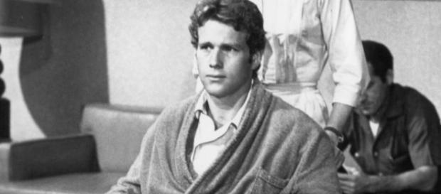"Ryan O'Neal on the 60's ABC soap ""Peyton Place."" Photo Credit: Wikimedia Commons"