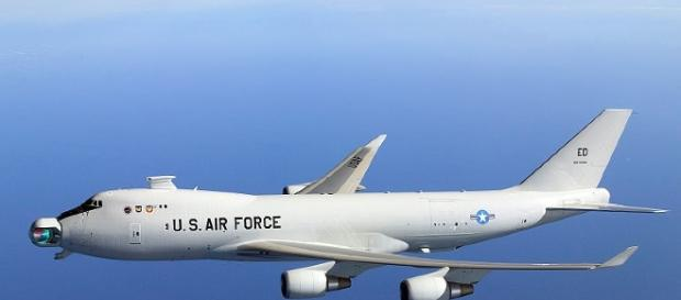 YAL-1A airborne laser (Missile Defense Agency wikimedia)
