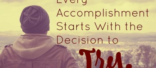 Accomplish, Take a chance. Image via Pixabay.