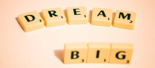 Dream Big.. Image via Pixabay.