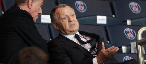 Et si Jean-Michel Aulas était mauvais joueur ? (Crédit - DR)