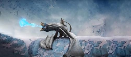 Ice Dragon, Game of Thrones - (YouTube/The Book of White Walkers)