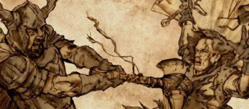 Ilustração de uma das mais notáveis batalhas ocorridas em Westeros