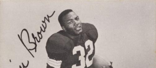 Jim Brown long ago was better than this. Kahn's Wieners via Wikimedia Commons