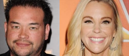 Jon Gosselin and Kate Gosselin in separate, undated photos - YouTube/E! News