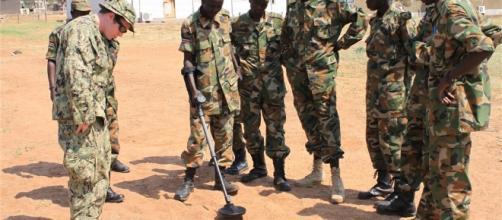 JUBA, South Sudan - Petty Officer 2nd Class J.P. Brassell, explosive ordnance technician | Gov USA