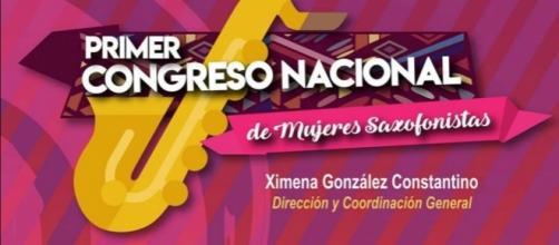 Primer Congreso de Mujeres Saxofonistas. De redes.