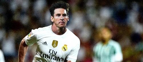 Quand le Real Madrid annonce la signature de... Messi !