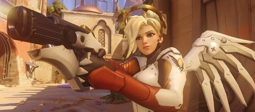 "The ""Overwatch"" PTR update has brought about major changes to the healer Mercy. (Gamespot/Blizzard)"