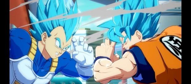 'Dragon Ball FighterZ' trailer confirms speculations that SSB Goku can Kaio-Ken!(Bandai Namco Ent. America/YouTube Screenshot)