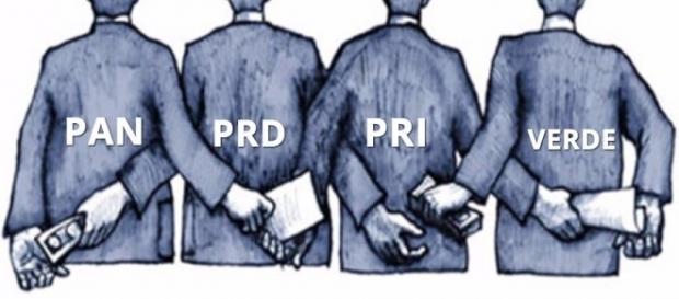 Los partidos corruptos tendrán que hacer alianzas.